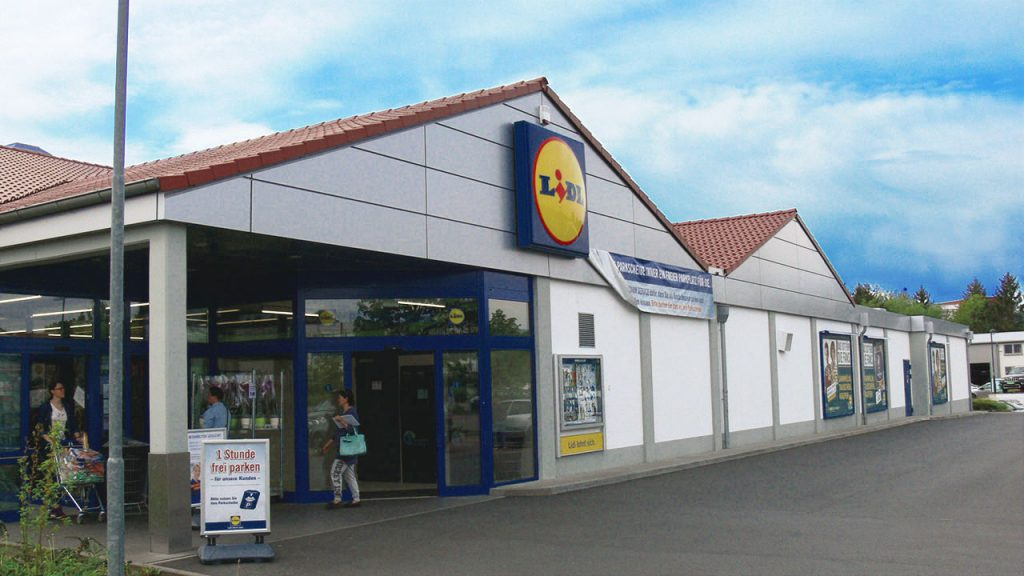 Lidl store in Germany